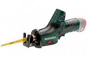 Сабельная пила Metabo Powermaxx ASE 10, аккумуляторная, 8В 2x2.0Ач, кейс, 602264500
